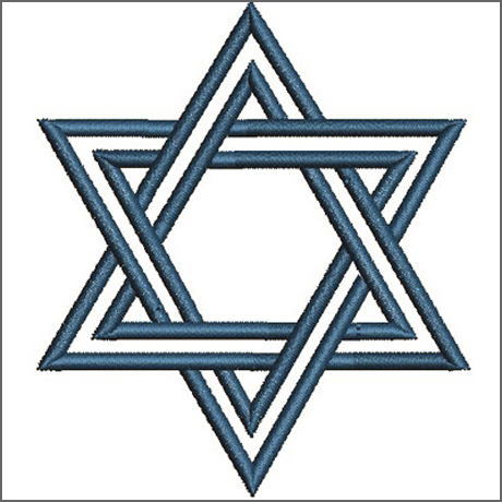 A estrela de David - símbolo de Israel