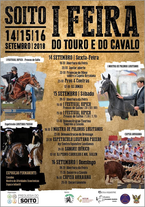 I Feira do Touro e do Cavalo - Soito - Capeia Arraiana