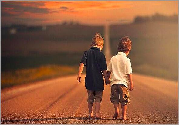 Percorrer o caminho da amizade