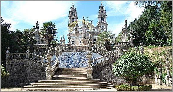 Santuário de Nossa Senhora dos Remédios em  Lamego - Capeia Arraiana