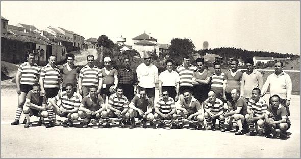 Jogo Gordos contra Magros realizado a 21 de Maio de 1967 no Sabugal