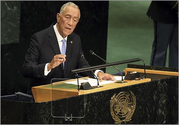 Marcelo Rebelo de Sousa discursou na Assembleia Geral da ONU - Capeia Arraiana