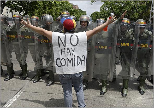 Crise Humanitária na Venezuela - Capeia Arraiana