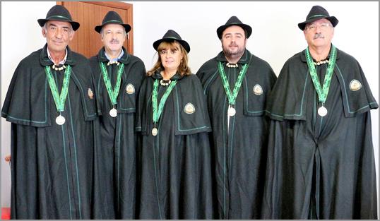 Confrades da Confraria do Cabrito Assado - Capeia Arraiana