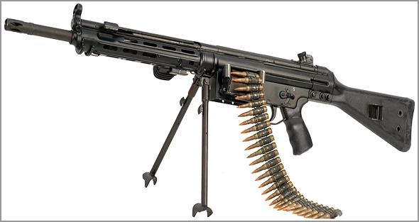 Metralhadora ligeira HK21 - Capeia Arraiana