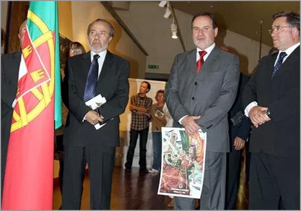 Comemorações do Centenário da República no Sabugal - Adérito Tavares, Santinho Pacheco e António Robalo - Capeia Arraiana