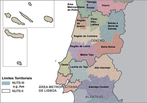 Mapa dos PC2II - Capeia Arraiana