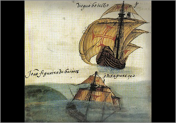 Uma nau a «ir por água abaixo». Livro de Lisuarte de Abreu (1549) - Adérito Tavares - Capeia Arraiana