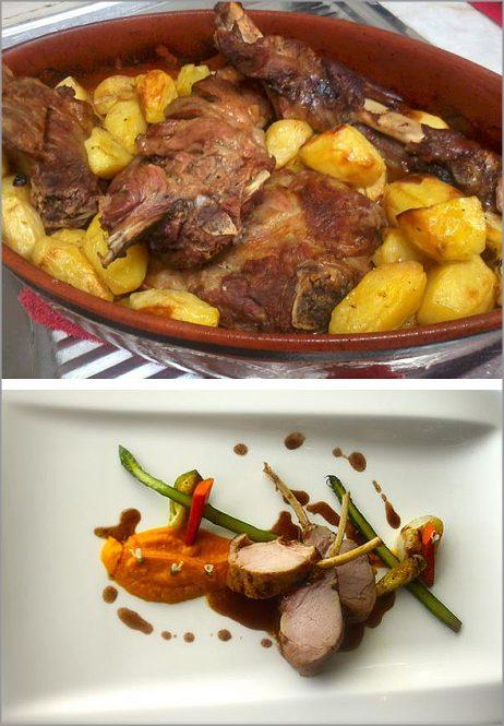 Cabrito - Gastronomia tradicional versus Gastronomia Gourmet - Capeia Arraiana