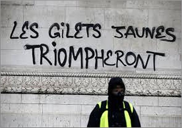 «Gilets Jaunes» em França - Capeia Arraiana