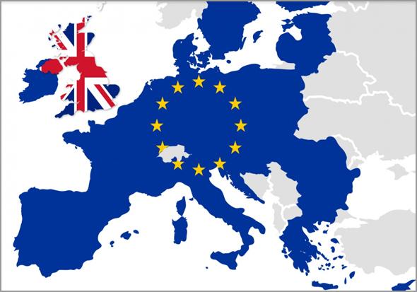 Mapa da Europa sem o Reino Unido - Capeia Arraiana