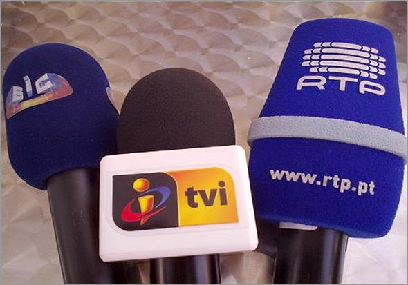 SIC, TVI e RTP - As estações generalistas de Portugal