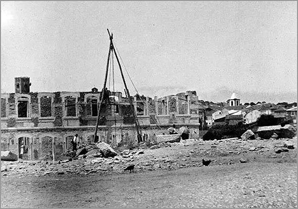 Construção da Escola Primária do Sabugal - Capeia Arraiana