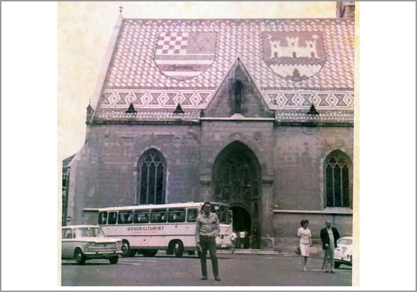 Igreja de São Marcos em Zagreb - Capeia Arraiana