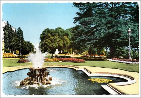 Jardim de Thabor em Rennes - Capeia Arraiana