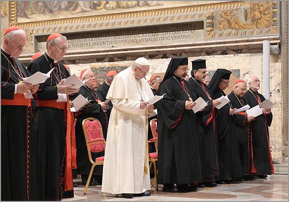 Cerimónia de encerramento da Cimeira do Vaticano - Capeia Arraiana