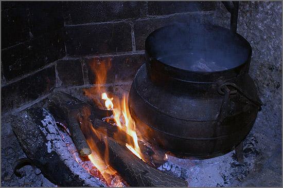 Panela ao lume