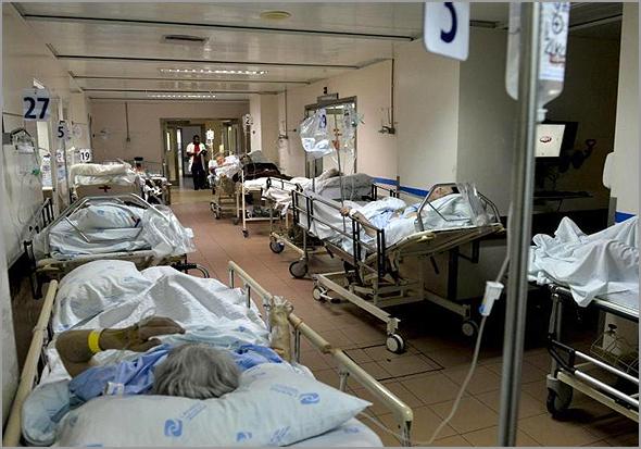 Urgências nos hospitais - Capeia Arraiana