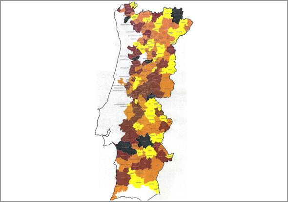 Mapa do Interior encolhe Portugal em 2030 - Capeia Arraiana