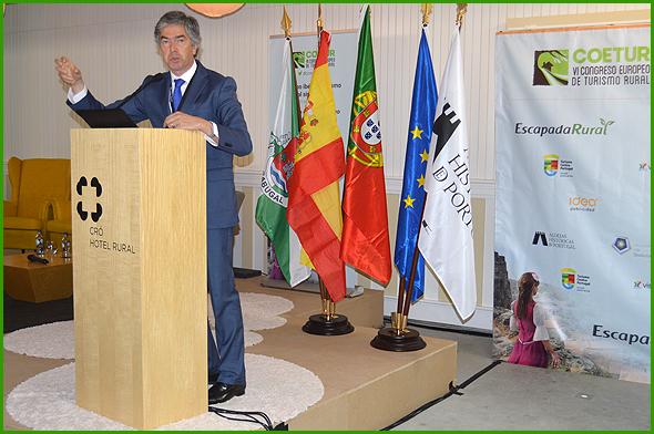 Pedro Machado, presidente do Turismo Centro Portugal - Capeia Arraiana
