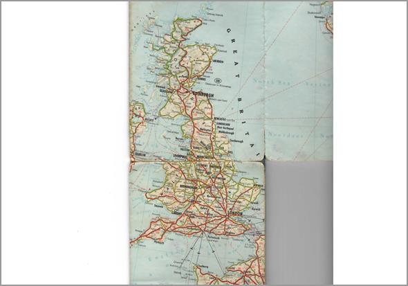 Mapa do Reino Unido de Franklim - Capeia Arraiana