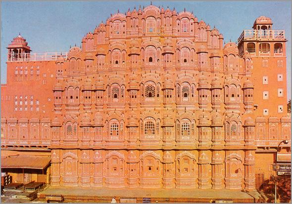 Palácio dos Ventos em Jaipur