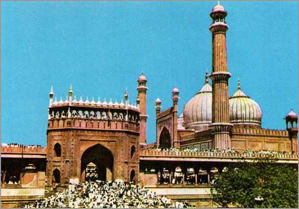Mesquita de Delhi - Capeia Arraiana