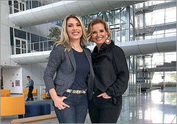 Clara de Sousa e Cristina Ferreira - Mudar para Paço de Arcos fez bem à  SIC!