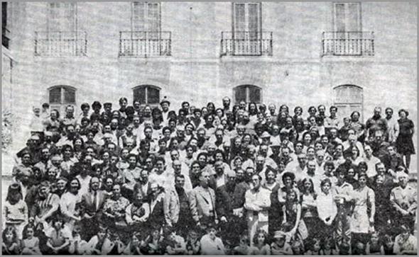 Magusto no dia 10 de Novembro de 1974, na Quinta das Irmãs Maristas, na Estrada de Benfica - capeiaarraiana.pt