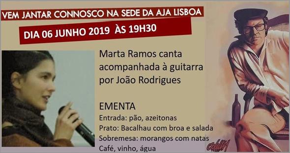 Marta Ramos acompanhada por João Rodrigues