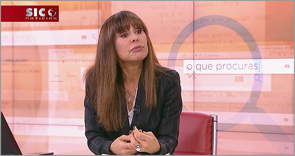 «A Procuradora» Manuela Moura Guedes na SIC
