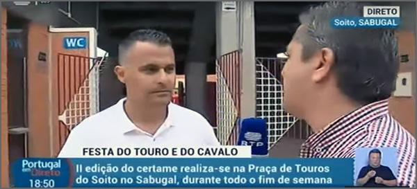 Tiago Nabais, Presidente da JF do Soito, em declarações à RTP sobre a II Feira do Touro e do Cavalo