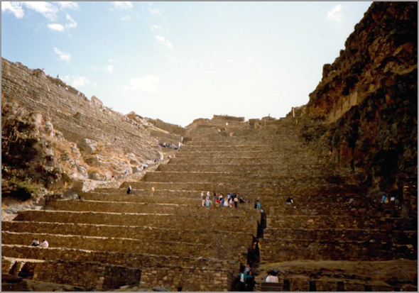 Terraças de Ollantaytambo