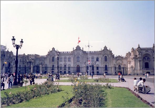Palácio Presidencial em Lima