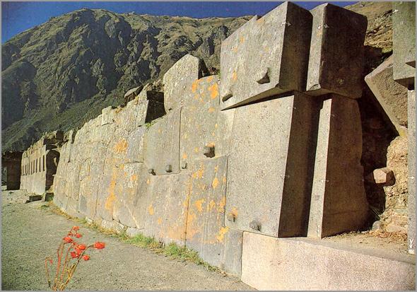 Muro das Hornicidas em Ollantaytambo
