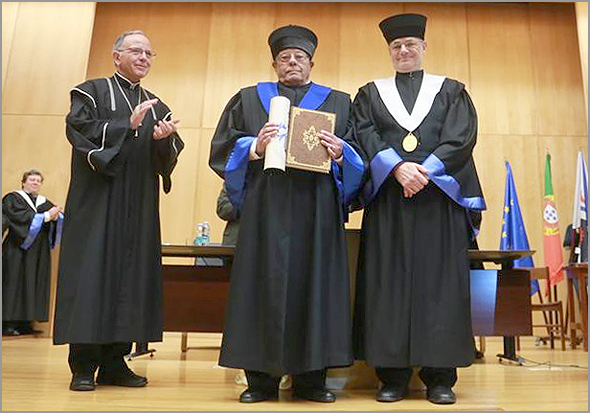 Doutoramento Honoris Causa pela UBI-Universidade da Beira interior