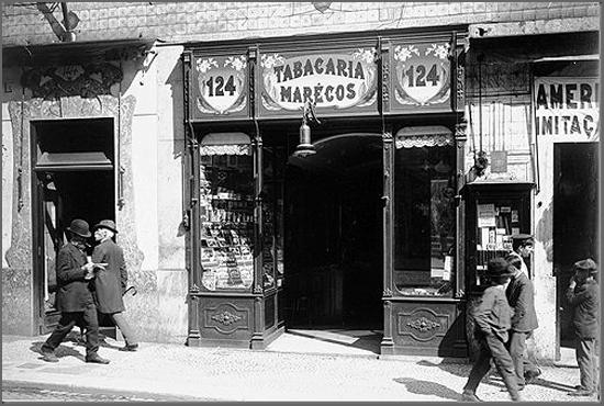 Antiga loja de tabacos