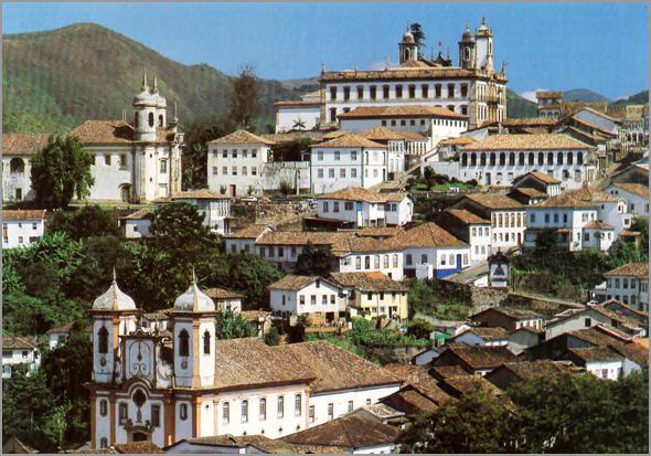 Bairro António Dias em Ouro Preto