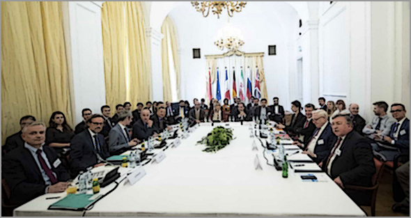 Reunião em Viena da comissão conjunta do acordo nuclear internacional de 2015