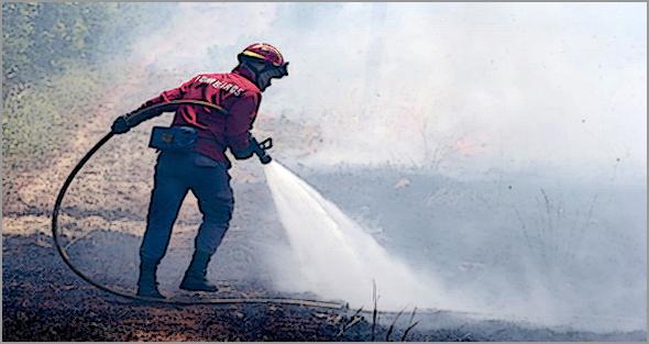 Grande incêndio assolou Sortelha durante o fim-de-semana