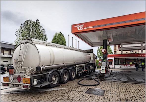 Greve dos motoristas - estado de emergência energética