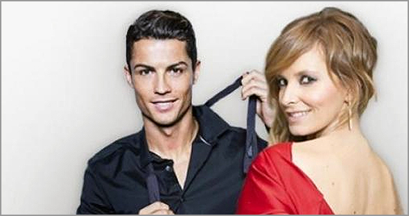 Cristiano Ronaldo e Cristina Ferreira