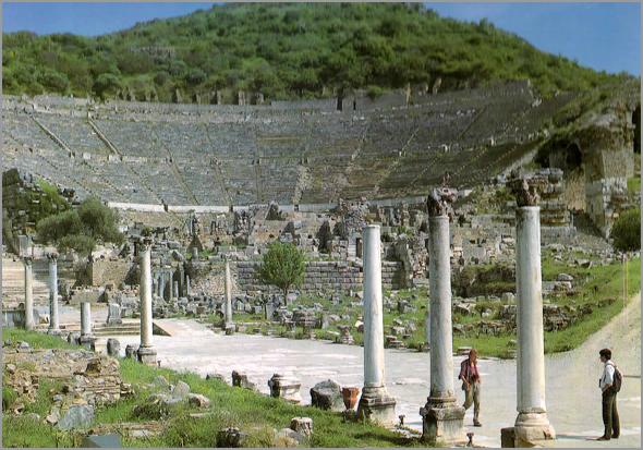Grande Teatro romano de Éfeso