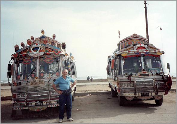 Minibus todos enfeitados