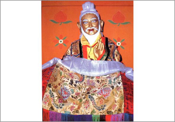 O criador da Medicina Tibetana,You Thok Yontan Gongbo (708-833 a.C.)