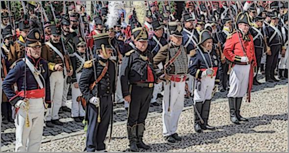 Recriação histórica em Almeida