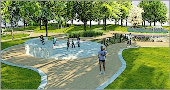 Já foi inaugurado o Parque Urbano de Pinhel (Foto: Jornal 'O Interior')