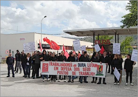 Despedimento colectivo na empresa DURA, na Guarda (ramo automóvel)
