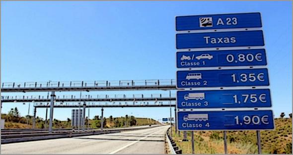 Tribuna Pública pede abolição das Portagens na A23 e A25