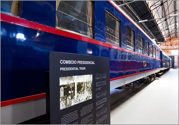 Comboio Presidencial - Museu Nacional Ferroviário - Capeia Arraiana